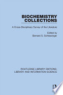 Biochemistry Collections
