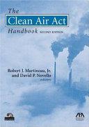 Pdf The Clean Air Act Handbook