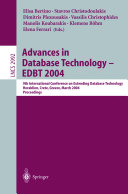 Advances in Database Technology   EDBT 2004