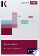 CIMA Operational Case Study - Study Text