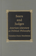 Seers and Judges