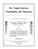 The Anglo-American Encyclopedia and Dictionary: Dictionary department (A-Z)