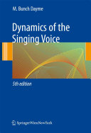 Pdf Dynamics of the Singing Voice Telecharger