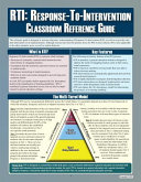 RTI  Response To Intervention  Classroom Reference Guide