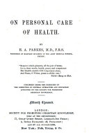 On Personal Care of Health