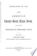 The American Shorthorn Herd Book