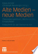 Alte Medien — neue Medien