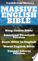 Massive English Bible