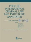 Code of International Criminal Law and Procedure