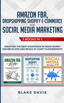 Amazon FBA  Dropshipping Shopify E commerce and Social Media Marketing