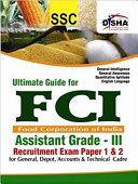 Pdf Ultimate Guide for FCI Assistant Grade - III Recruitment Exam Paper 1 & 2 Telecharger