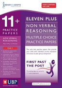 11+ Practice Papers Non Verbal Reasoning