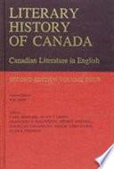 Literary History of Canada