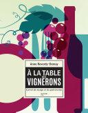 Pdf À la table des vignerons Telecharger