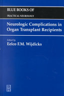 Neurologic Complications in Organ Transplant Recipients Book