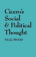 Cicero's Social and Political Thought Pdf/ePub eBook
