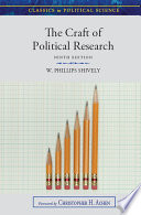The Craft of Political Research