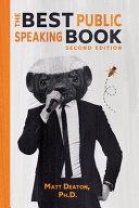 The Best Public Speaking Book