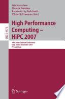 High Performance Computing Hipc 2007 Book PDF