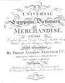 An Universal European Dictionary of Merchandise ebook