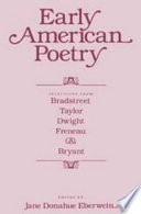 Early American Poetry