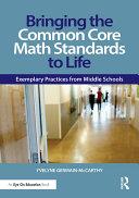 Bringing the Common Core Math Standards to Life Pdf/ePub eBook