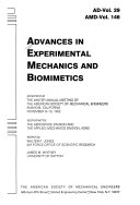 Advances in Experimental Mechanics and Biomimetics