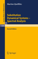 Substitution Dynamical Systems   Spectral Analysis