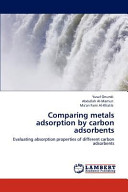 Comparing Metals Adsorption by Carbon Adsorbents