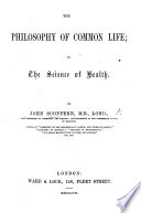 The Philosophy of Common Life