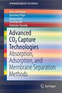 Advanced CO2 Capture Technologies Book