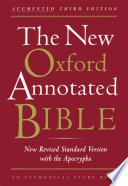 """""""The New Oxford Annotated Bible with the Apocryphal/Deuterocanonical Books: New Revised Standard Version"""" by Michael David Coogan, Marc Zvi Brettler, Carol Ann Newsom, Pheme Perkins"""