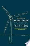 Sustainable Energy Transitions Book