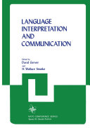Language Interpretation and Communication [Pdf/ePub] eBook