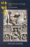 World Literature and Thought  The ancient worlds Book