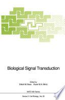 Biological Signal Transduction