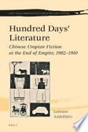 Hundred Days    Literature