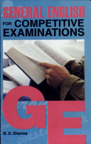 Pdf General English for Competitive Examinations