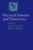 Electoral Systems and Democracy