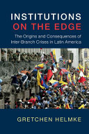 Institutions on the Edge Book
