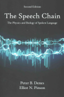 Cover of The Speech Chain
