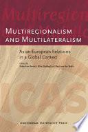 Multiregionalism and Multilateralism Book