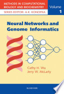 Neural Networks and Genome Informatics Book