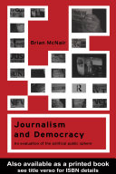 Journalism and Democracy
