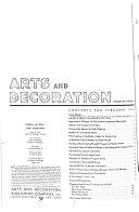 Arts and Decoration