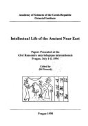 Intellectual Life of the Ancient Near East