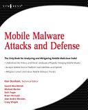 Mobile Malware Attacks and Defense Pdf/ePub eBook