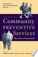 The Guide to Community Preventive Services