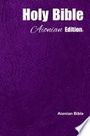 Download Holy Bible Aionian Edition: Aionian Bible Epub