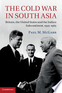 The Cold War in South Asia